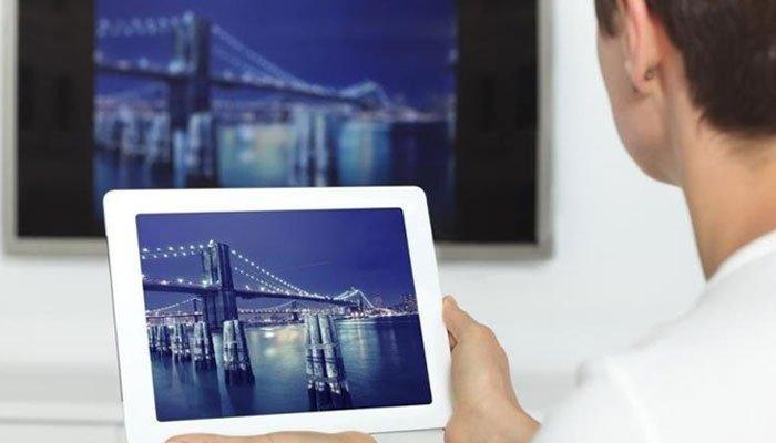 Bạn có thể kết nối máy tính bảng với tivi Toshiba nhanh chóng