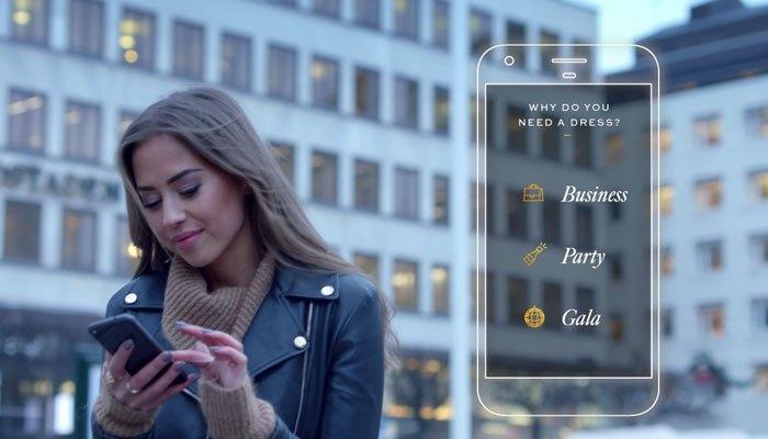 Ứng dụng Code Couture trên điện thoại sáng tạo bằng cách hỏi trang phục bạn nuốn