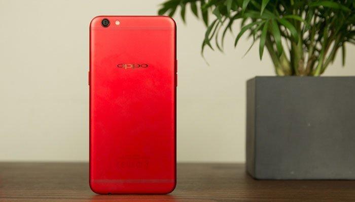 Mặt lưng điện thoại OPPO R9s RED màu đỏ nổi bật