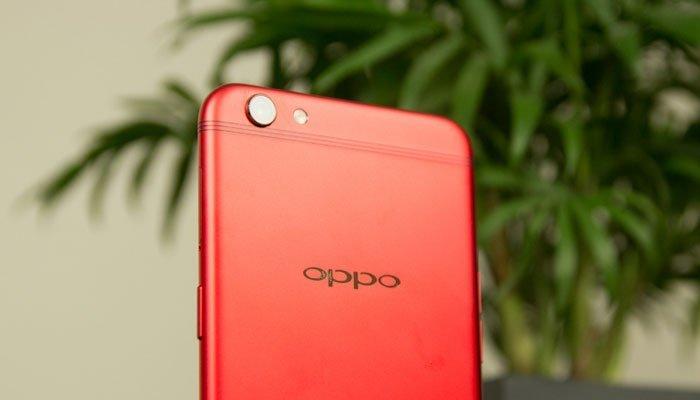 Camera sau điện thoại OPPO R9s RED độ phân giải 16MP