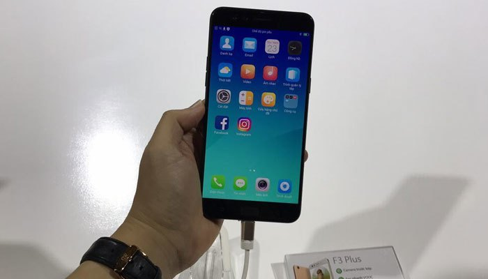 Thiết kế của điện thoại OPPO F3 Plus