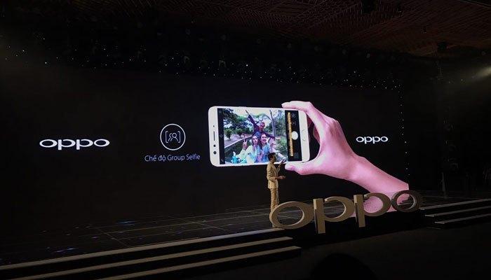 Điện thoại OPPO F3 Plus với camera góc rộng