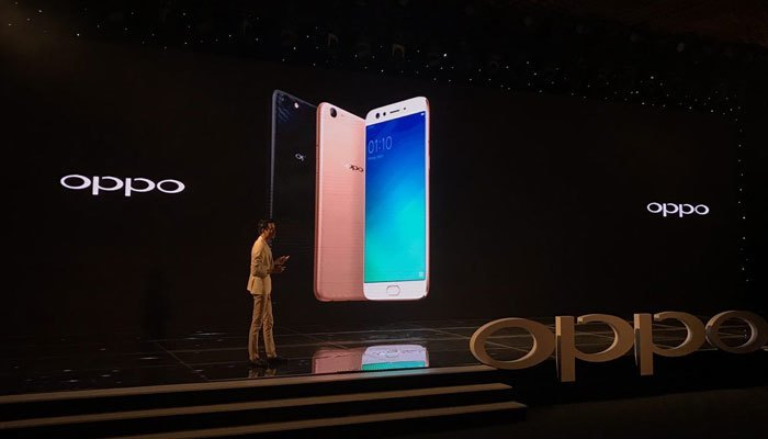 Điện thoại OPPO F3 Plus có 3 màu