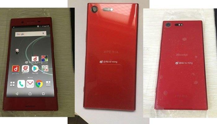 Điện thoại Xperia XZ Premium màu đỏ