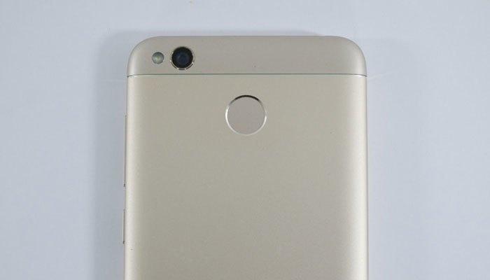 Điện thoại Xiaomi Redmi 4X trang bị cảm biến vân tay