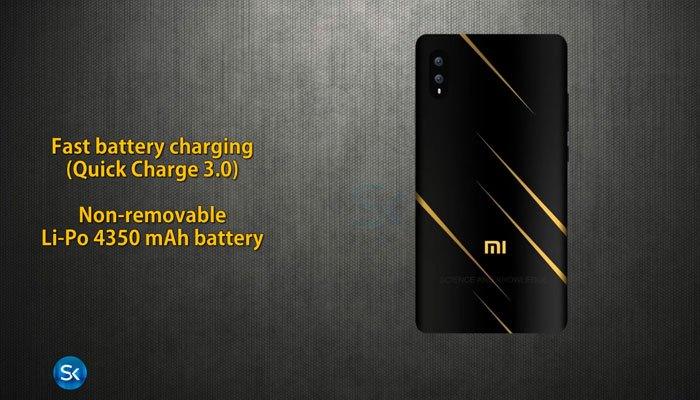 Điện thoại Xiaomi Mi7 dung lượng pin tốt