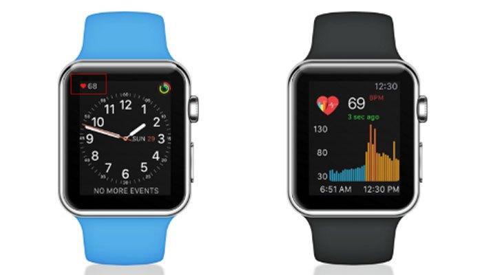 Đồng hồ thông minh Apple Watch phản ánh sức khỏe người dùng
