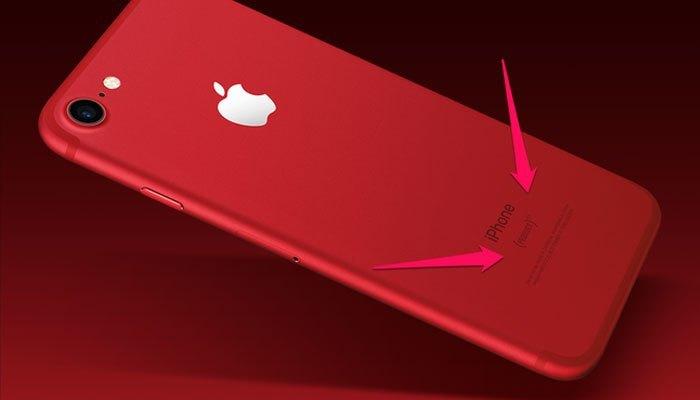 Điện thoại iPhone 7 là phần trong chiến dịch RED vô cùng nhân văn