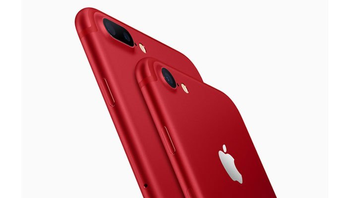 Apple ra mắt iPhone 7 đỏ