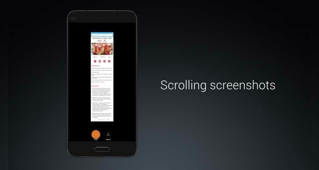 Android gốc có thể chụp màn hình cuộn