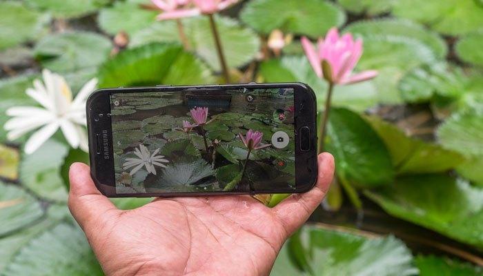 Camera 16MP của điện thoại Galaxy A 2017 cho bạn những bức hình chân thật, sắc nét