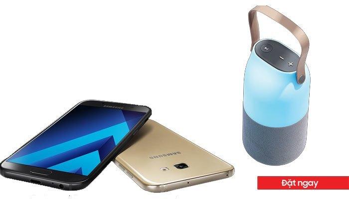 Đặt hàng điện thoại Galaxy A 2017 tại Nguyễn Kim