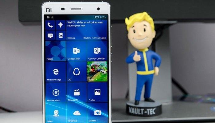 Xiaomi đã cùng Microsoft cho ra chiếc điện thoại Mi 4