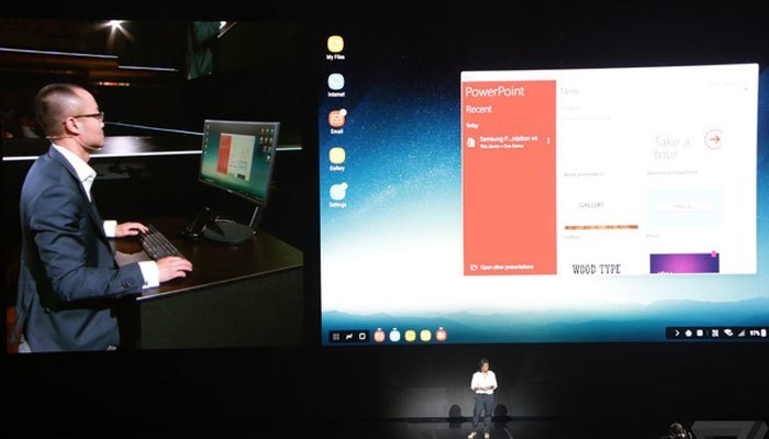 Samsung DeX thực hiện được mọi tính năng của PC