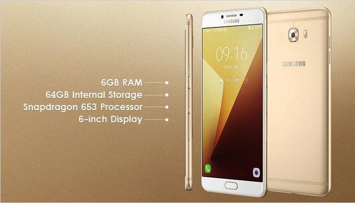 Ấn tượng với cấu hình cực mạnh của điện thoại Samsung C9 Pro