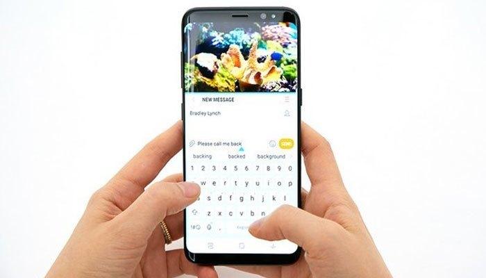 Điện thoại GalaxyS8 có viên pin là 3.000 mAh còn S8+ là 3500 mAh hỗ trợ sạc nhanh