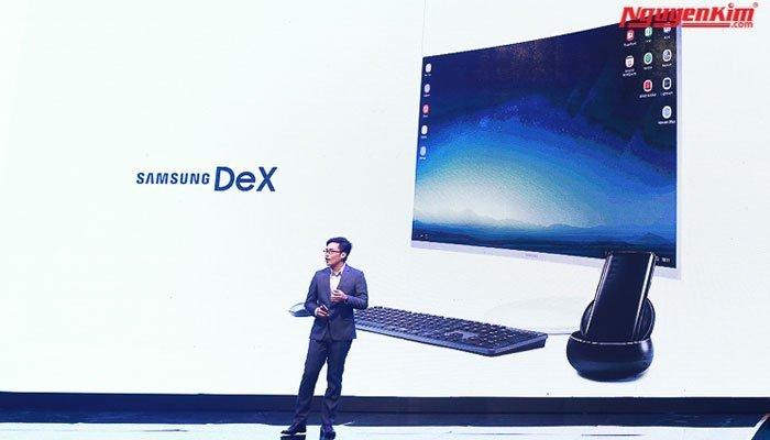 Samsung DeX một phụ kiện biến điện thoại Galaxy S8 thành máy tính để bàn