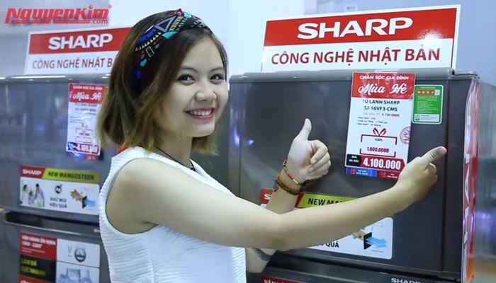 Tủ lạnh Sharp hiện đại