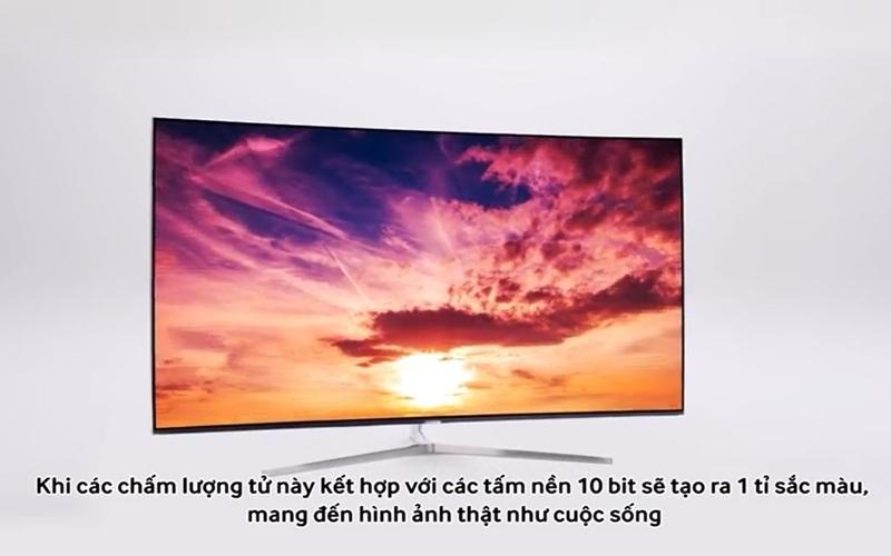 Màn hình tivi Samsung SUHD sở hữu 1 tỷ sắc màu sống động