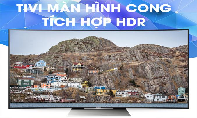 Tivi 4K Sony KD-65S8500D màn hình cong 65 inches Ultra HD