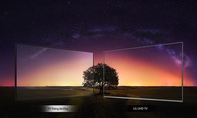 Tivi LED LG 43 inch 43UM7300PTAHình ảnh sắc nét đến mọi góc độ