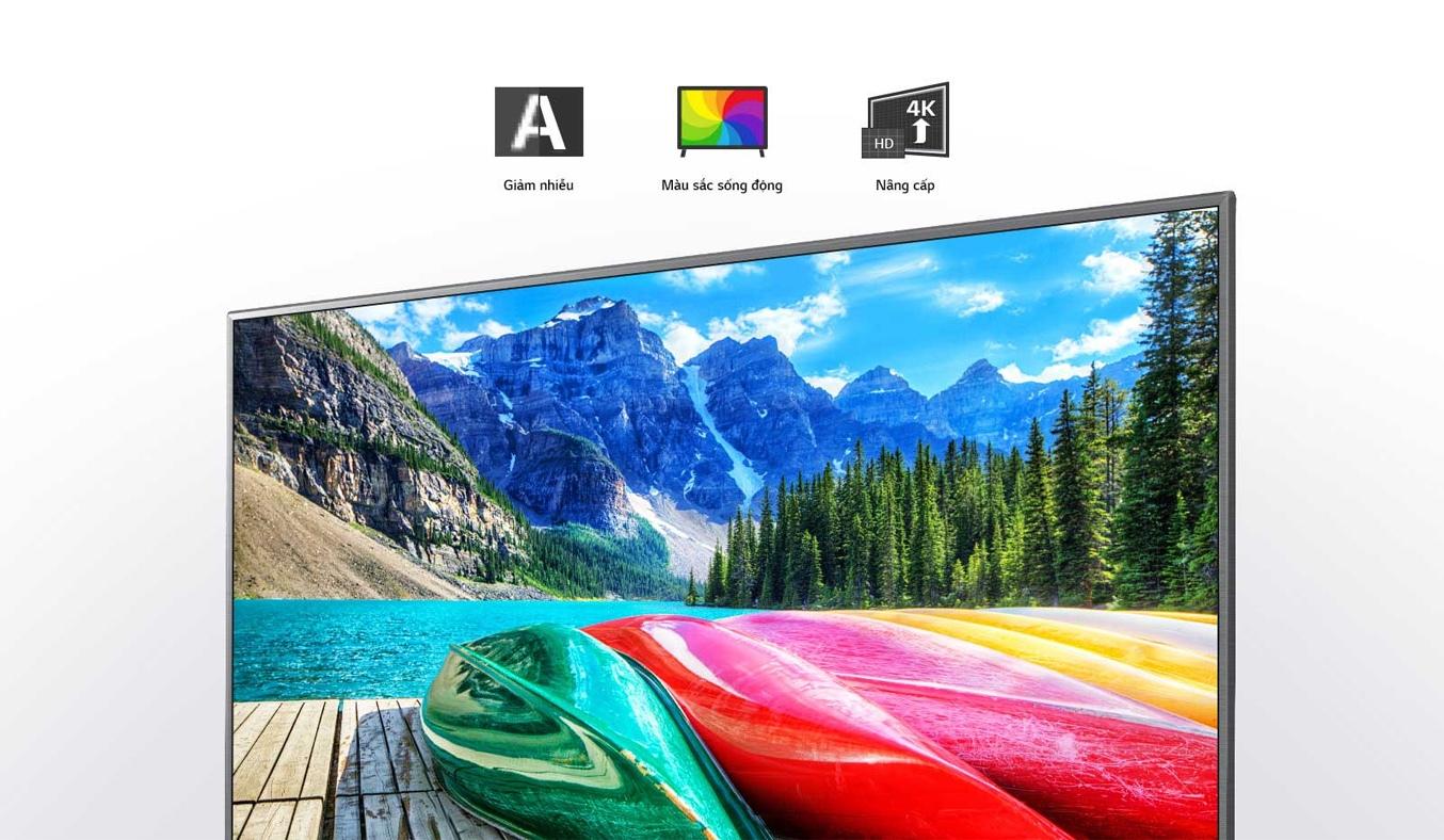 Smart Tivi LG 4K 49 inch 49UN7190PTA công nghệHDR 10 Pro vàHLG Pro