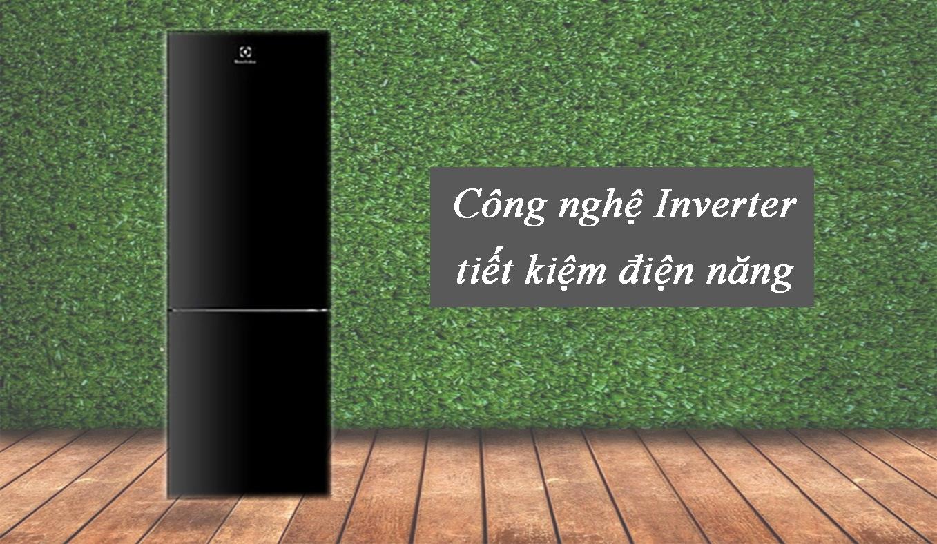 Tủ lạnh Electrolux Inverter 250 lít EBB2802H-H tiết kiệm điện năng