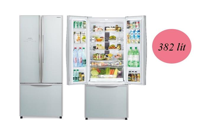 Tủ lạnh Hitachi Inverter 382 lít R-WB475PGV2 (GS) Dung tích 382 lít