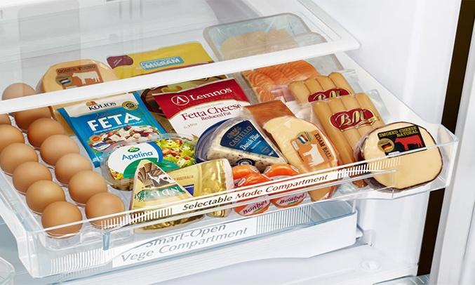 Tủ lạnh Hitachi Inverter 382 lít R-WB475PGV2 (GS) Ngăn chứa chuyển đổi linh hoạt