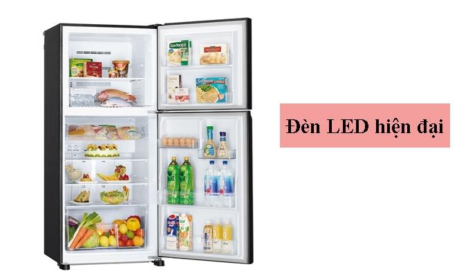 Tủ lạnh Mitsubishi Electric 344 lít MR-FX43EN-GBK-V (2 cửa) đèn led hiện đại