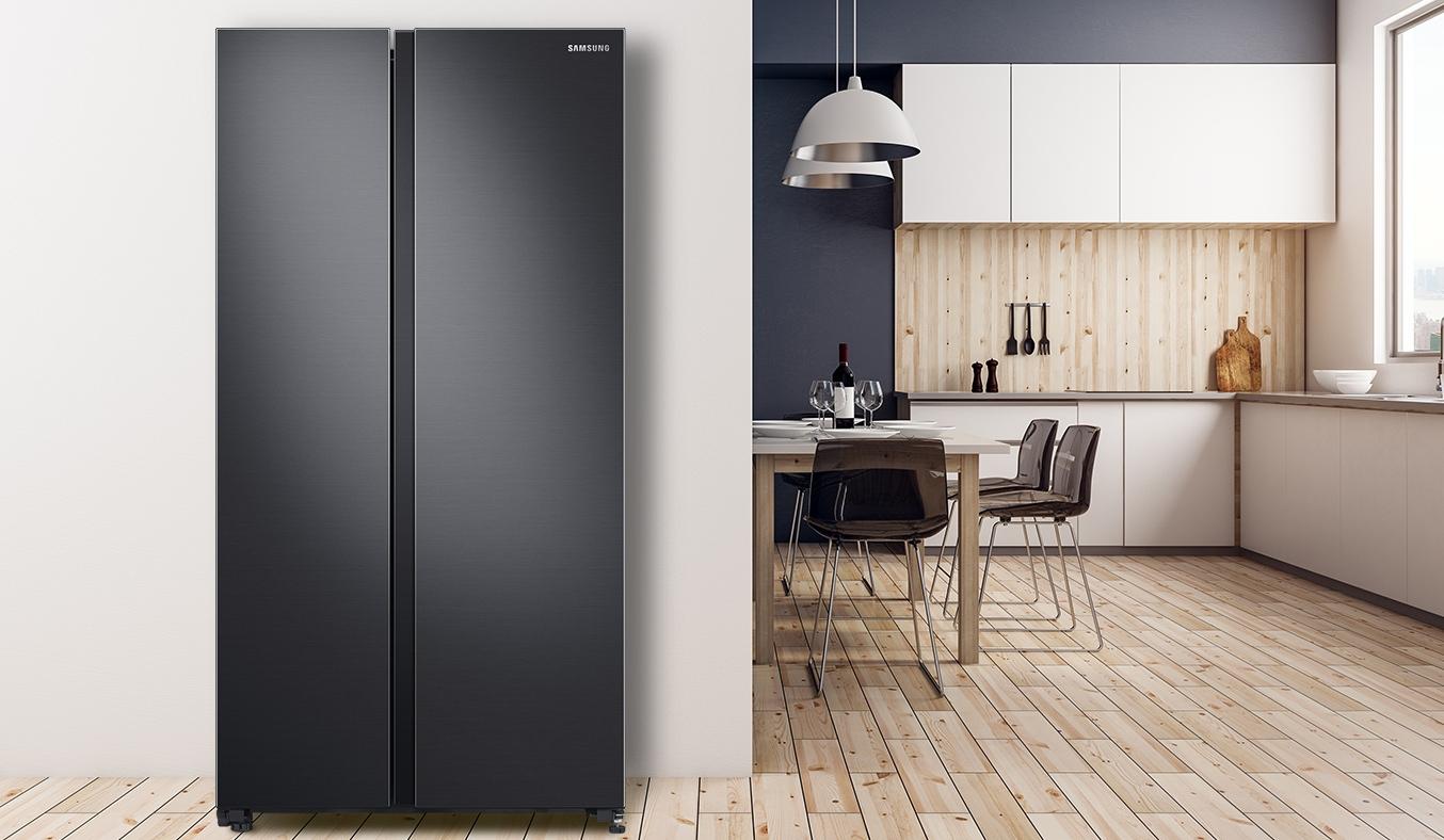 Tủ Lạnh Samsung 680 Lít SBS RS62R5001B4 thiết kế chuẩn châu Âu