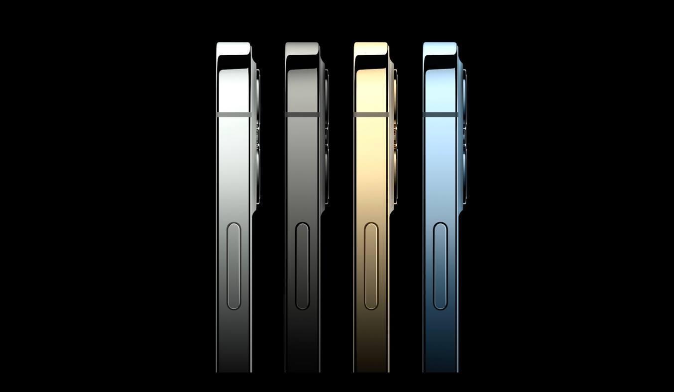 Điện thoại iPhone 12 Pro 256GB Xanh Thiết kế khung cạnh vuông vắn, trải nghiệm ấn tượng