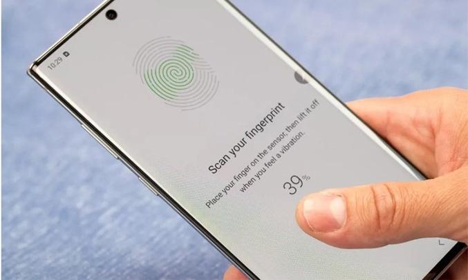 Samsung Galaxy Note 10 Lite Bạc Bảo mật tốt