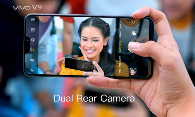 Điện thoại di động Vivo V9 đen camera chuyên nghiệp