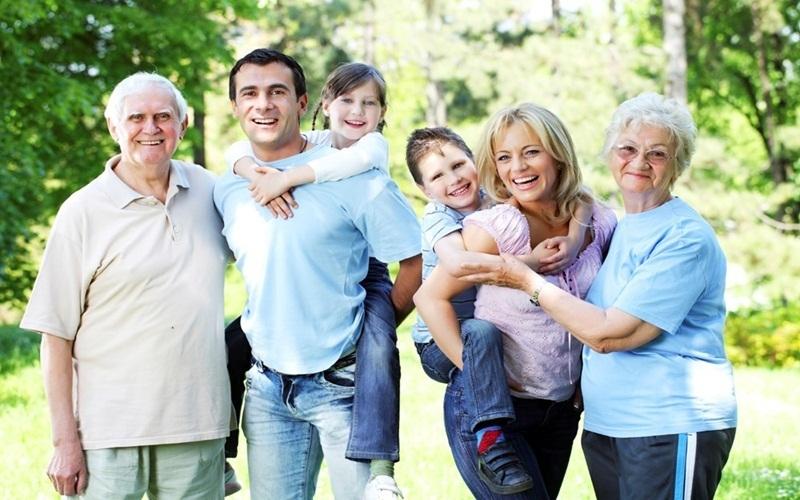 Vun đắp tình cảm cả nhà trong ngày nghỉ lễ hiếm hoi sau thời gian bận rộn