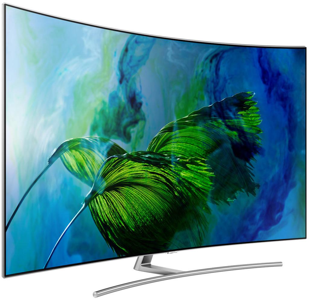Tivi QLed Samsung 75 inches QA75Q8CAMKXXV sang trọng