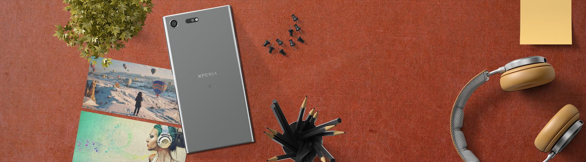 Điện thoại Sony Xperia XZ Premium màu chrome có mức giá hấp dẫn tại Nguyễn Kim