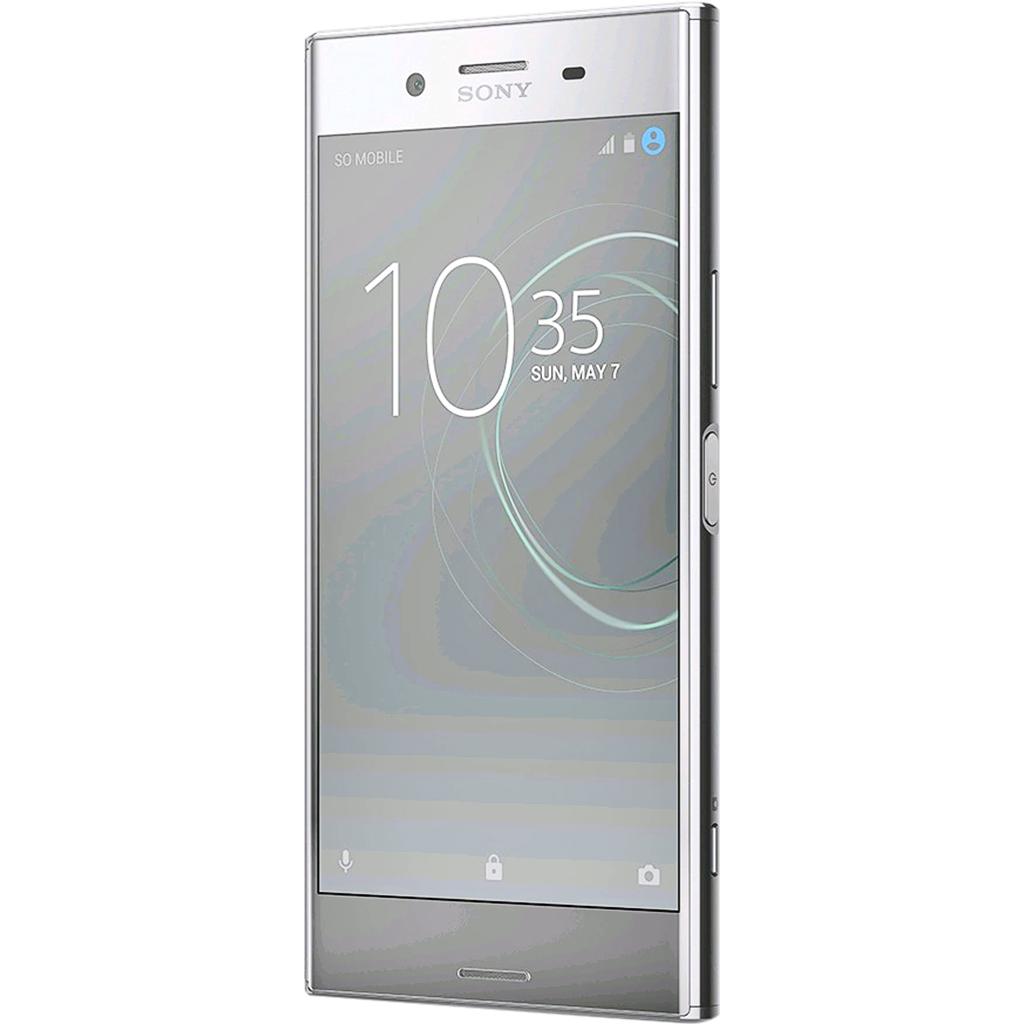 Điện thoại Sony Xperia XZ Premium màu chrome sở hữu màn hình 4K cực kỳ ấn tượng