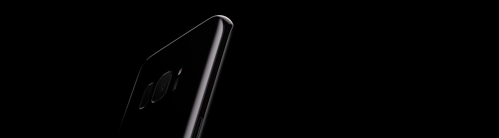 Điện thoại Samsung Galaxy S8 đen thiết kế đẹp mắt
