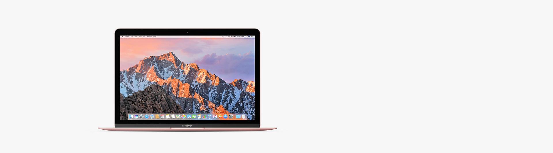 Macbook 12 inch 256GB (2017) hồng sở hữu thiết kế tinh tế, sang trọng