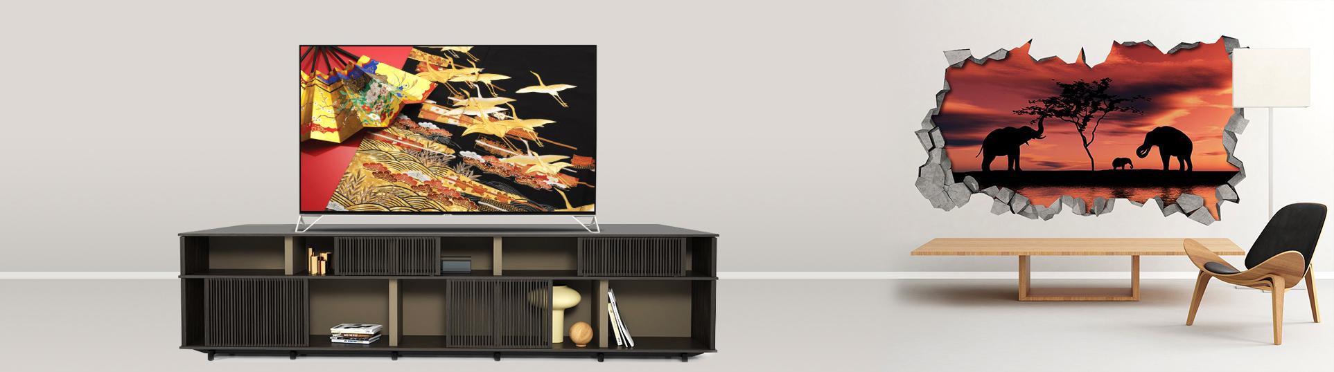 Tivi 8K Sharp 70 inch LC-70XU830X với màn hình 70 inches chuẩn nét