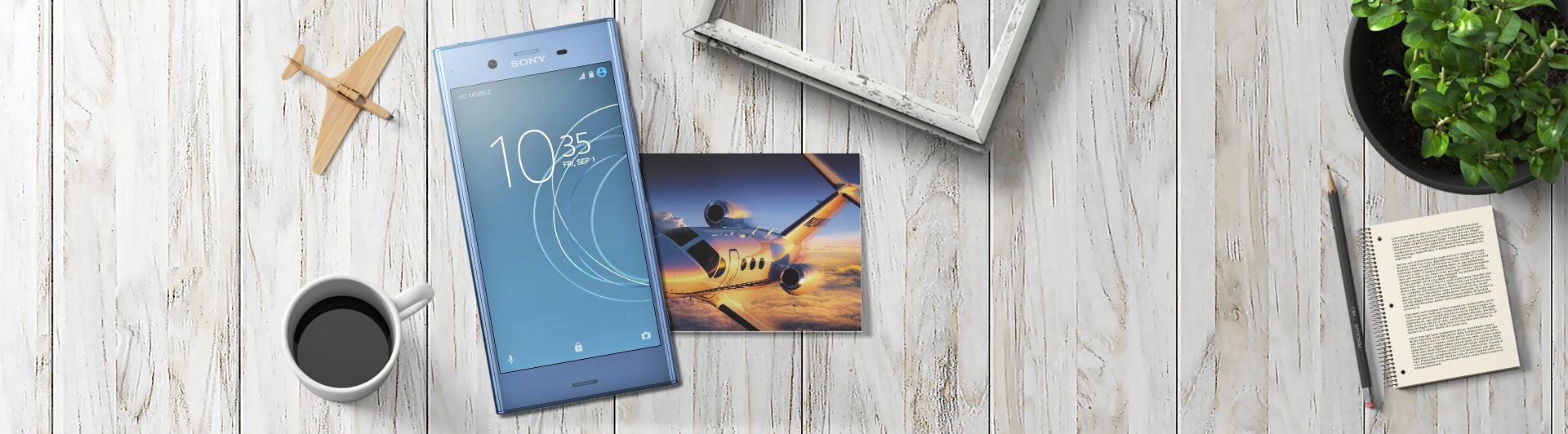 Điện thoại di dộng Sony Xperia XZ1 màu xanh dương giá tốt tại Nguyễn Kim