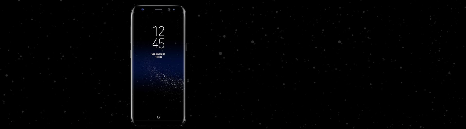 Điện thoại Samsung Galaxy S8 đen chính hãng giá tốt tại Nguyễn Kim