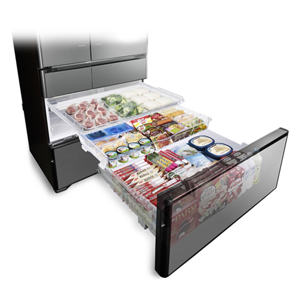 Tủ lạnh Hitachi Inverter 722L R-X670GV sử dụng gas R600A