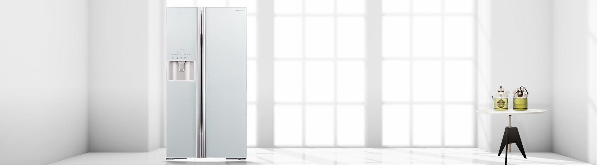 Tủ lạnh Hitachi R-S700GPGV2 589 lít bạc giá cạnh tranh tại Nguyễn Kim