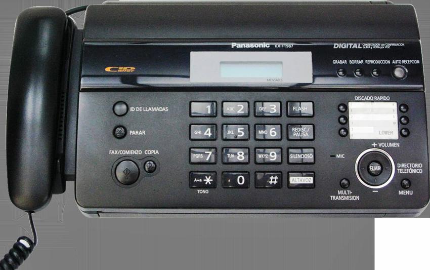 MÁY FAX PANASONIC KX-FT 987