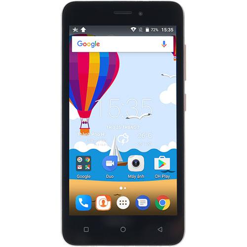Điện thoại di động Mobiistar Lai Z2 màu đen mặt trước