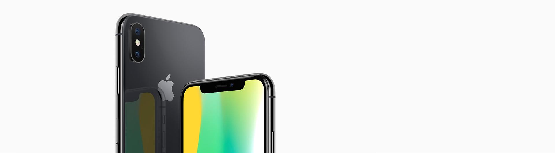 Điện thoại di động iPhone X 64GB Silver camera kép 12 MP, trước 7MP