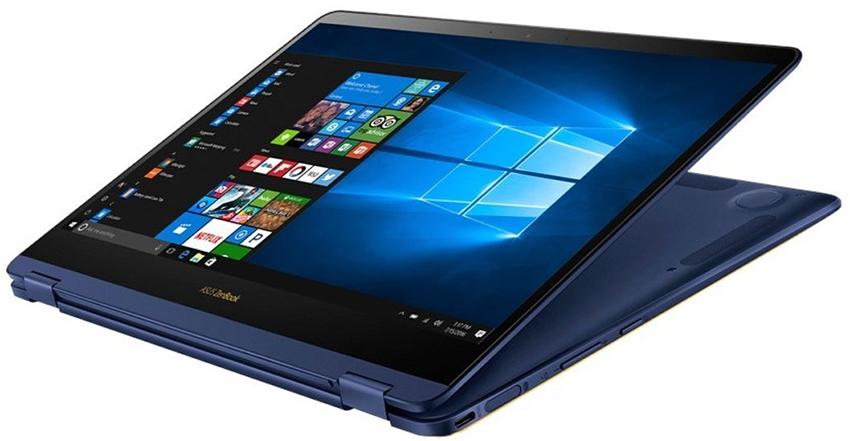 Laptop ASUS Zenbook Flip S UX370U - C4217TS màn hình lật