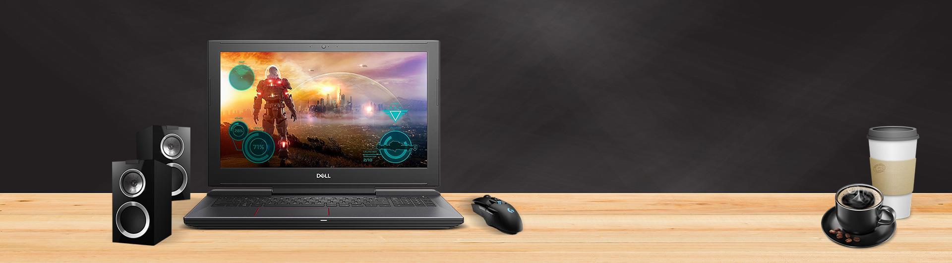 Laptop Dell Inspiron 15 7577 (N7577A - P65F001) mặt trước